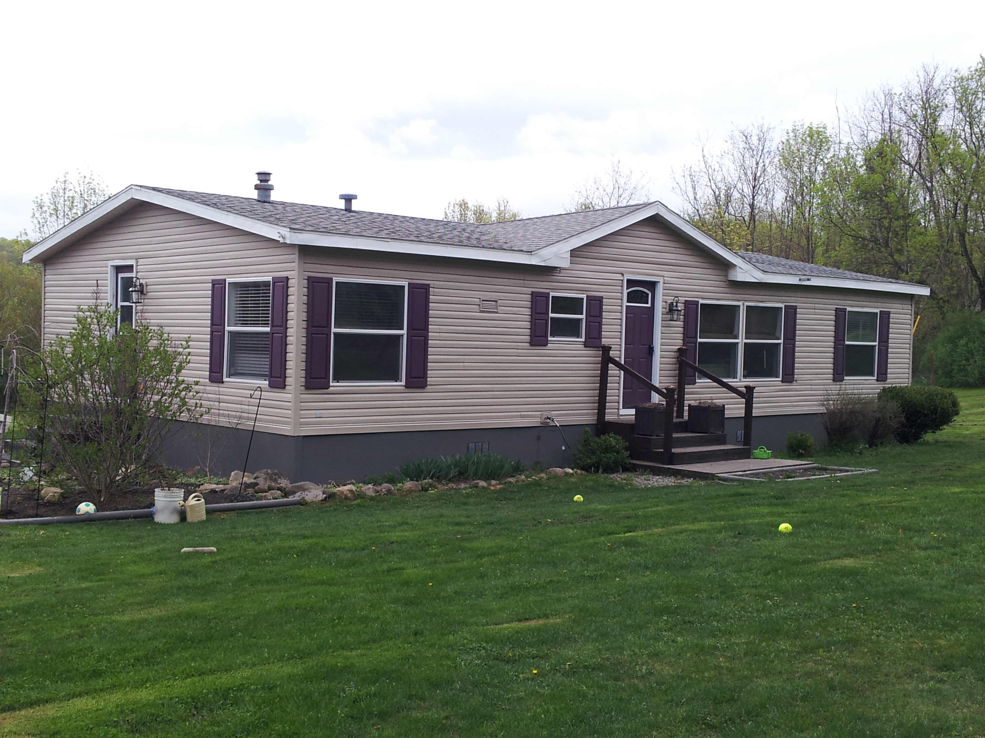 Can i paint my mobile home yes i can my mobile home - Preview exterior house paint colors ...