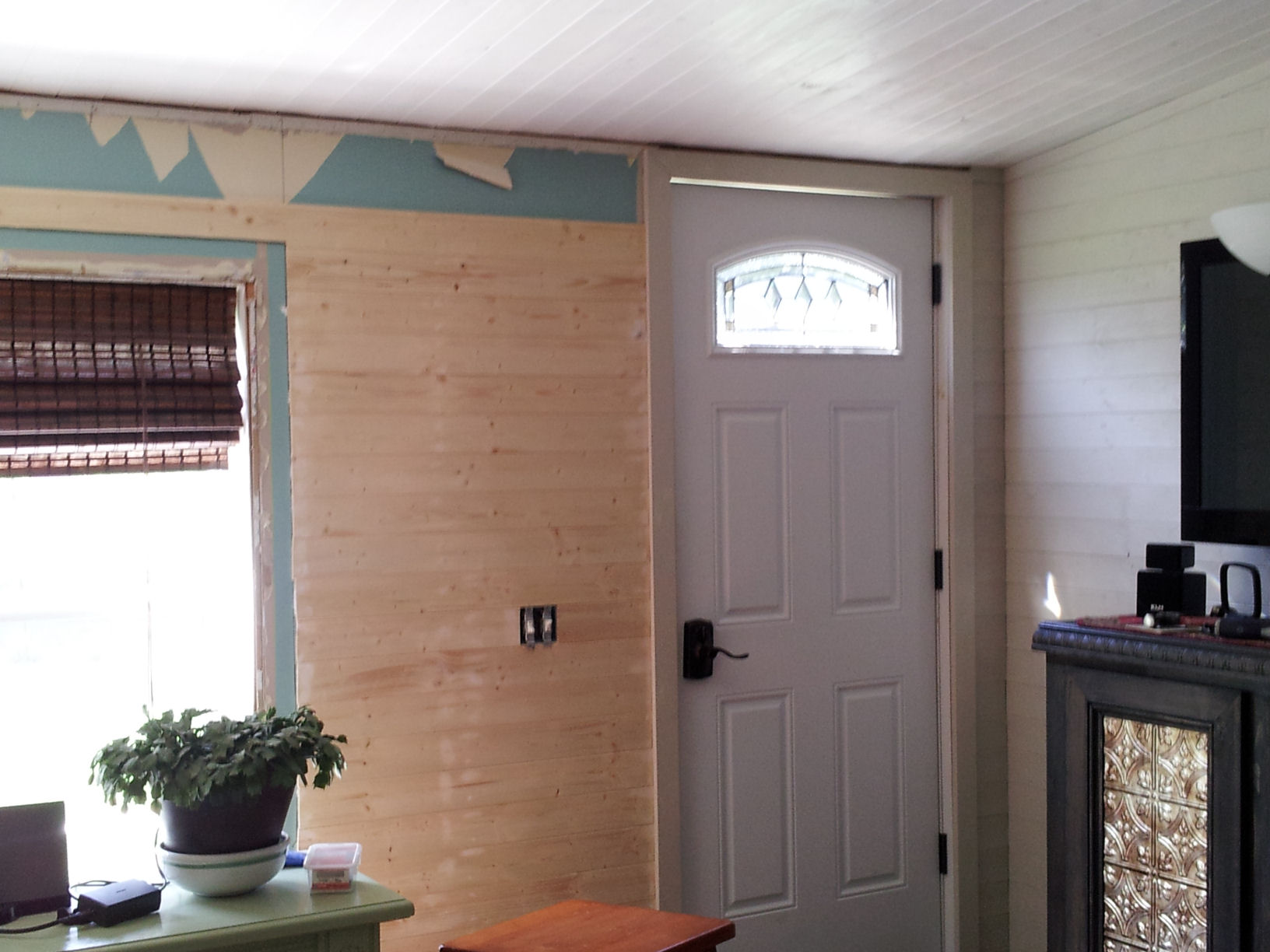 Mobile Home Living Room Remodel Episode 1 My Mobile