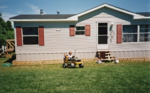 My Mobile Home Makeover landscaping