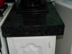 Faux Granite Painted Counter-tops