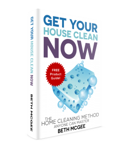 Get Your House Clean Now: The Home Cleaning Method Anyone Can Master by Beth McGee will help you get your mobile home clean