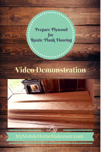 Prepare Plywood for Plank Flooring