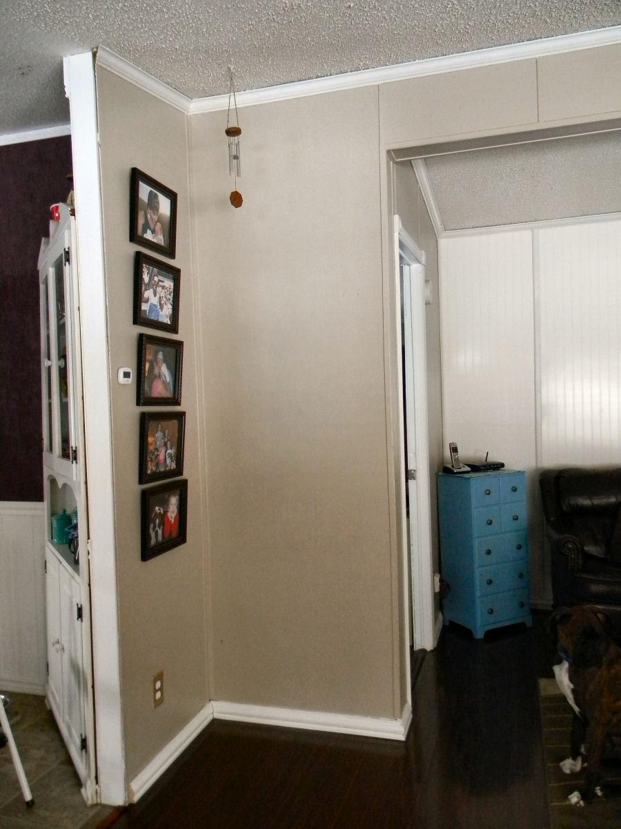 My Mobilehome Makeover Living Room Corner